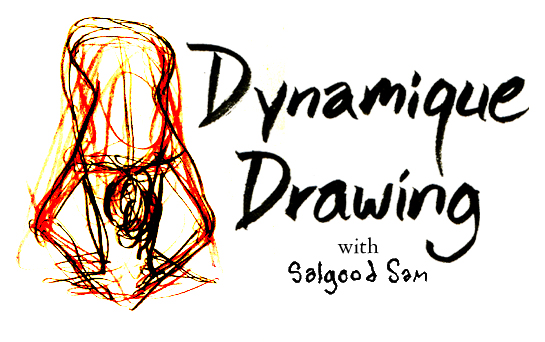 Dynamic Drawing with Salgood Sam