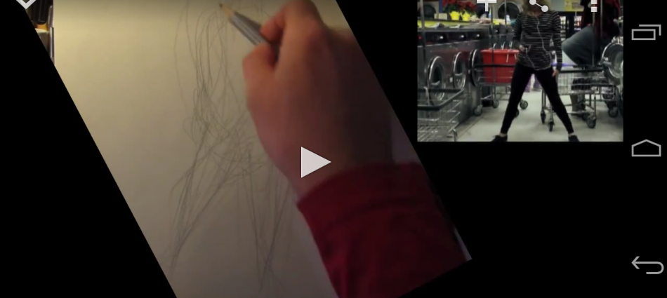 Dynamic gesture drawing, demo and notes