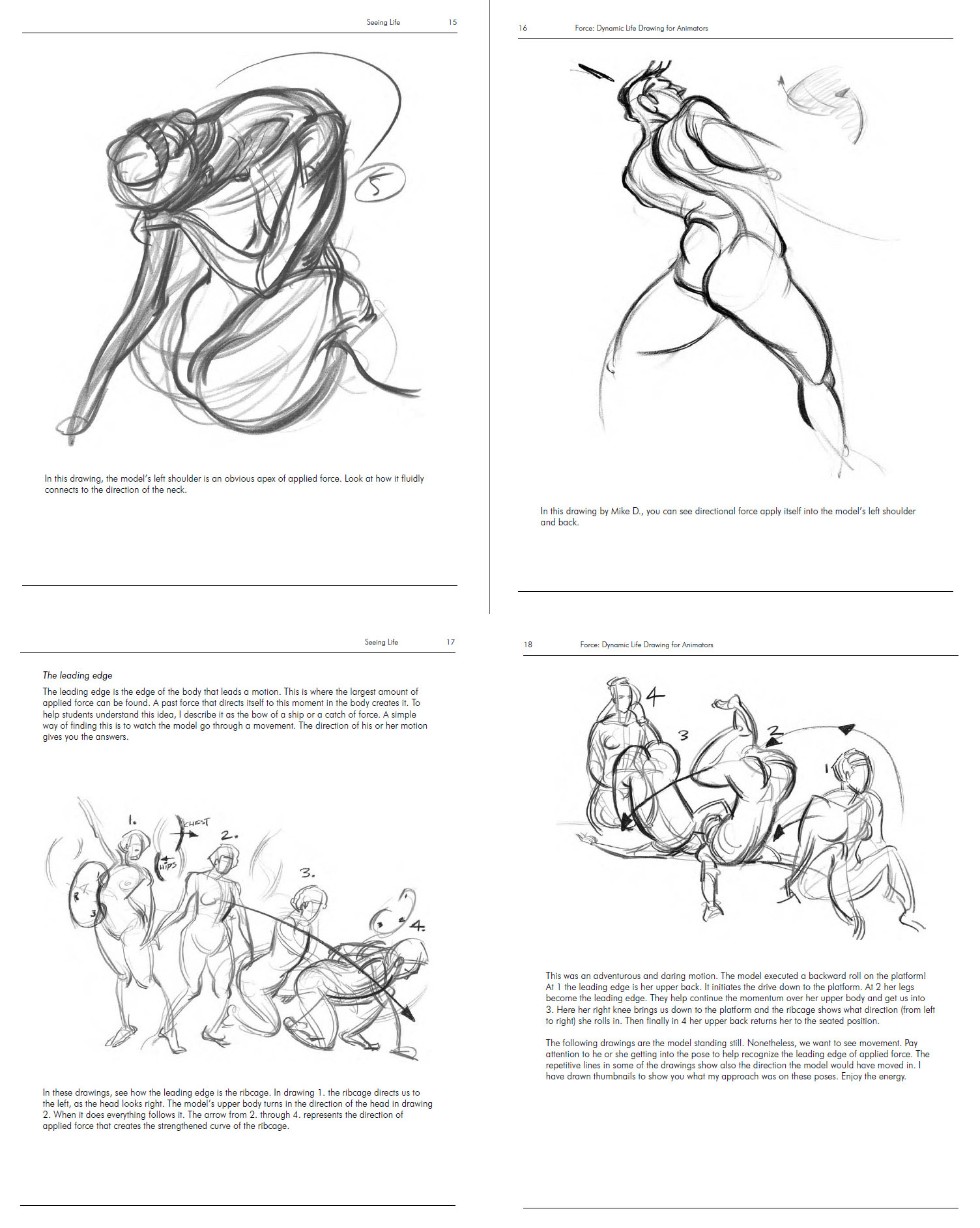 dynamic drawing archive notes from force by mike mattesi. Black Bedroom Furniture Sets. Home Design Ideas
